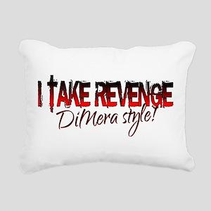 Revenge - DiMera Style Rectangular Canvas Pillow