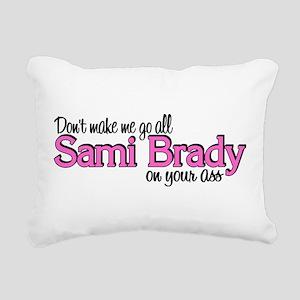 Sami Brady Rectangular Canvas Pillow