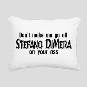 Stefano DiMera Rectangular Canvas Pillow