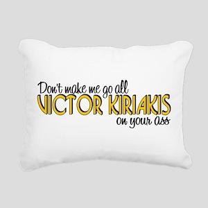Victor Kiriakis Rectangular Canvas Pillow
