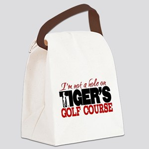 Tiger's Golf Course Canvas Lunch Bag