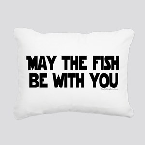 Fish Force Rectangular Canvas Pillow