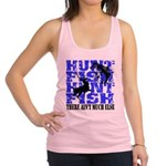 Hunt Fish Racerback Tank Top