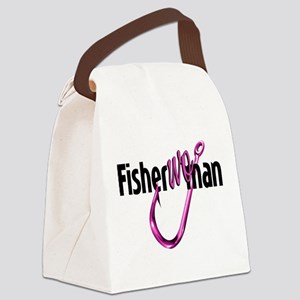 FisherWoman Canvas Lunch Bag