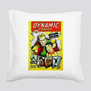Dynamic Comics #2 Square Canvas Pillow