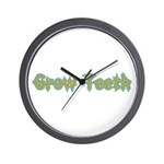 Grow Teeth Wall Clock