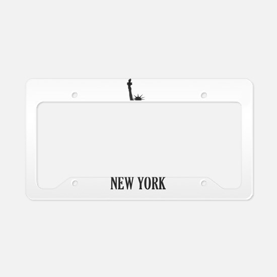 NY Liberty License Plate Holder