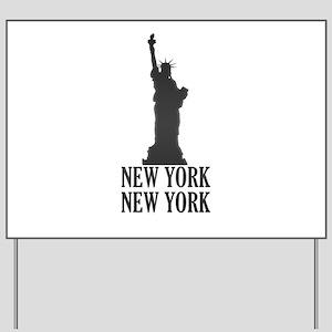 NY Liberty Yard Sign