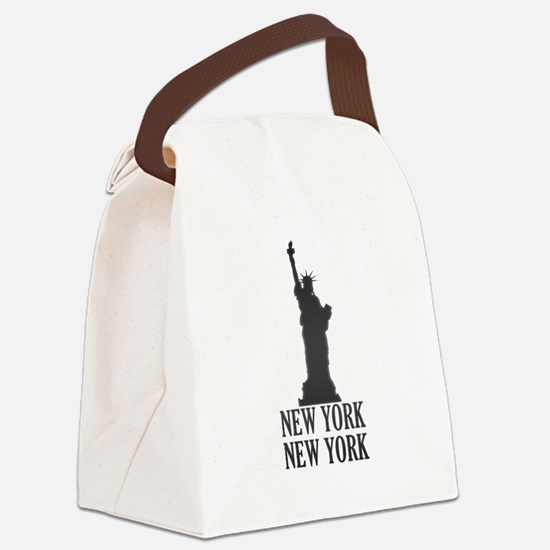 NY Liberty Canvas Lunch Bag