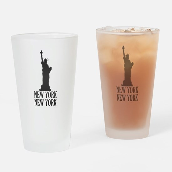 NY Liberty Drinking Glass