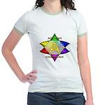 Ashtar Logo 7 Jr. Ringer T-Shirt