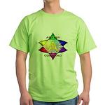 Ashtar Logo 7 Green T-Shirt