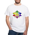 Ashtar Logo 7 White T-Shirt