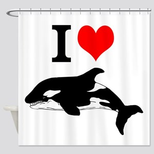 Whale Song Shower Curtain