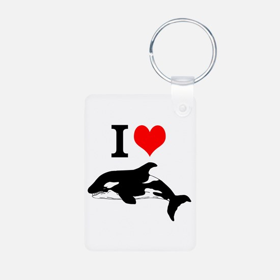 Whale Song Keychains