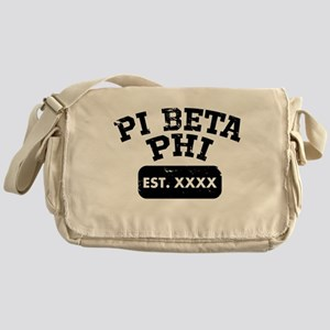 Pi Beta Phi Athletic Messenger Bag