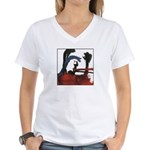 Character #3 Women's V-Neck T-Shirt