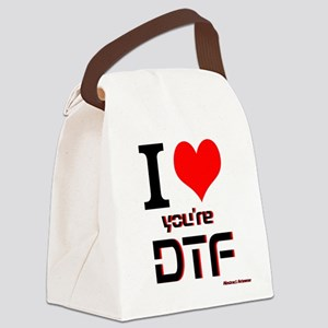 DTF Canvas Lunch Bag