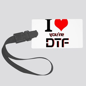 DTF Large Luggage Tag