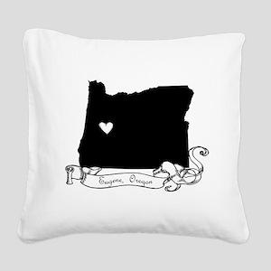 Eugene Square Canvas Pillow