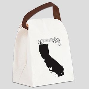 Santa Barbara Canvas Lunch Bag