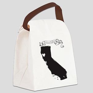 Mendocino Canvas Lunch Bag
