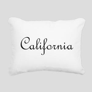 California Rectangular Canvas Pillow