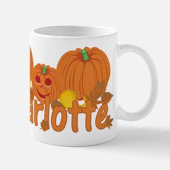 Halloween Pumpkin Charlotte Mug