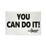 You Can Do It Beer Magnets