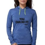 You Can Do It Beer Womens Hooded Shirt
