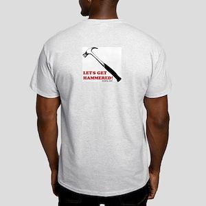 Hammered! Ash Grey T-Shirt