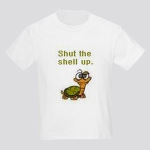 Shut the Shell up. Kids T-Shirt