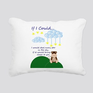 Missing You Rectangular Canvas Pillow