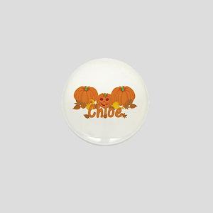 Halloween Pumpkin Chloe Mini Button