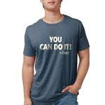 You Can Do It Beer Mens Tri-blend T-Shirt