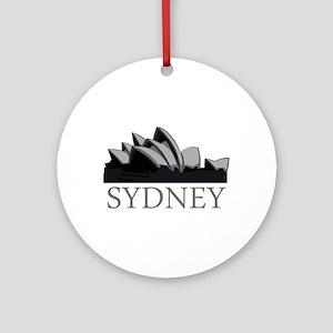 Sydney Opera Ornament (Round)