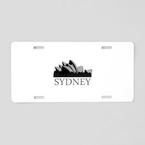 Sydney Opera Aluminum License Plate