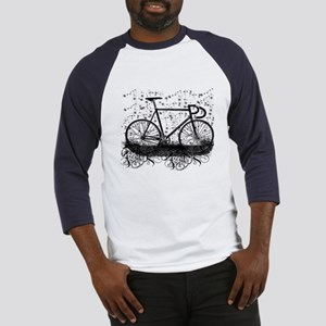 Track Bike Baseball Jersey