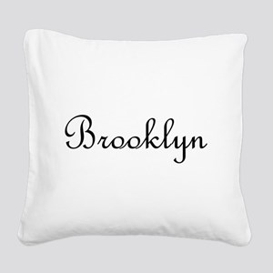Brooklyn Square Canvas Pillow
