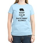 Keep Calm and Back Away Slowly Women's Light T-Shi