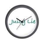 Juicy Lie Wall Clock