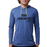You Can Do It Coffee Mens Hooded Shirt