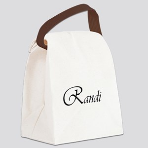 Randi Canvas Lunch Bag