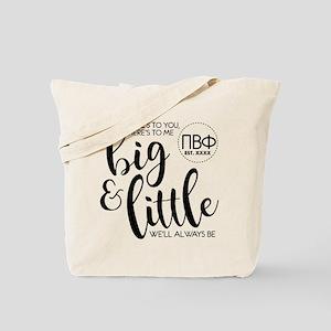 Pi Beta Phi Big Little Tote Bag