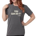 You Can Do It Coffee Womens Comfort Colors Shirt