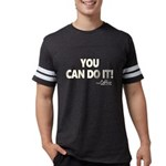 You Can Do It Coffee Mens Football Shirt