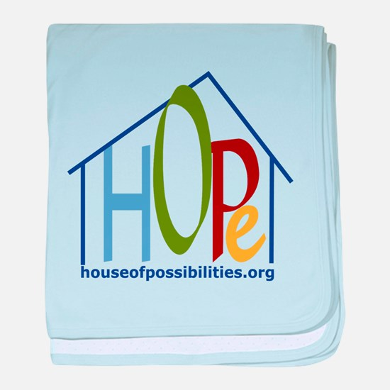 HOPe House Colors baby blanket
