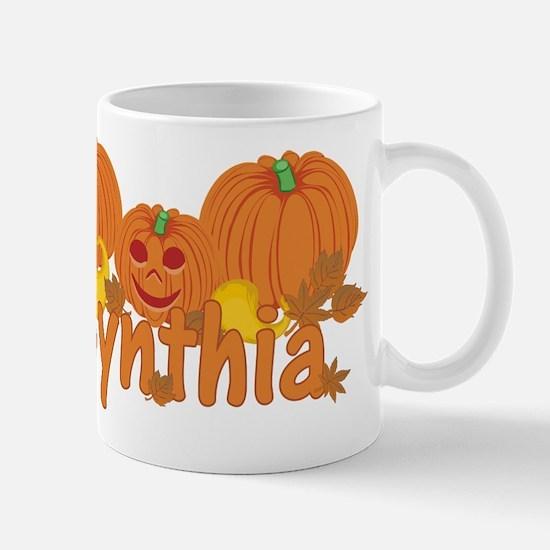 Halloween Pumpkin Cynthia Mug