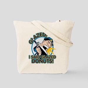Police Glazed Donuts Tote Bag