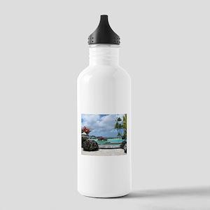 Bora Bora Tropical Paradise Stainless Water Bottle